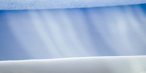Snow Drift with Window Reflection Pattern