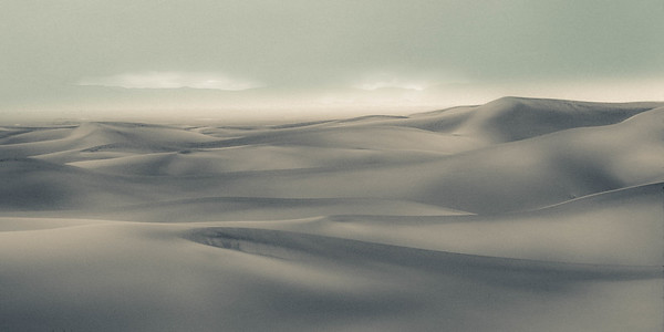 Storm Approaching the Dunes, Stylized