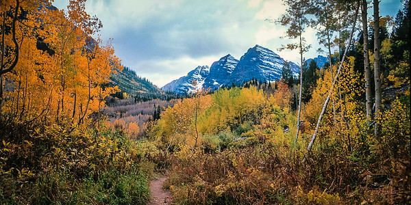 Trail to the Maroon Bells