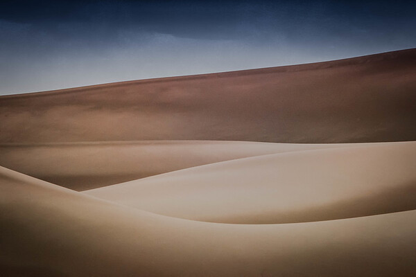 Storm Cloud Over the Dunes