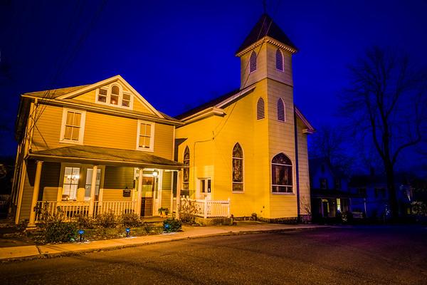 Small Church and House on Church St