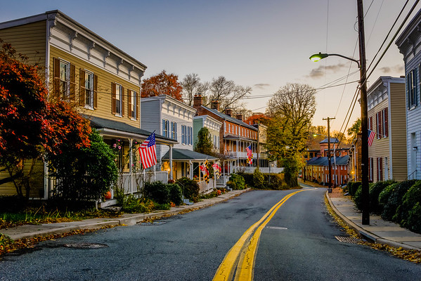 Looking Down Oella Ave. #1