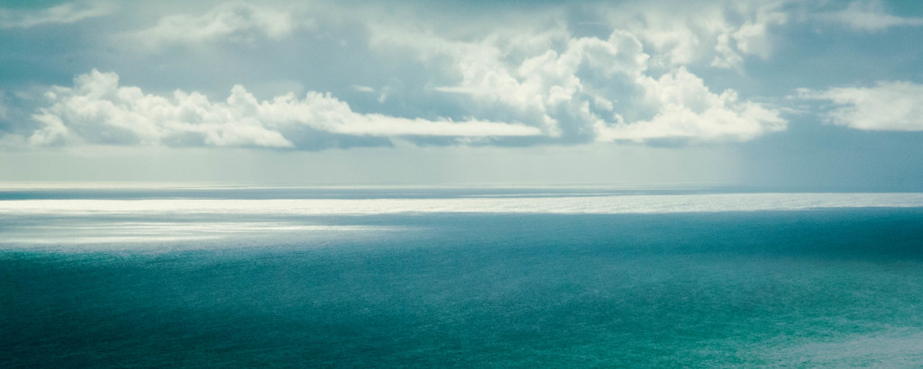 Mixed Weather Over the Ocean #1
