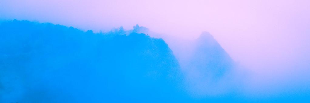 Fog in Waimea Canyon
