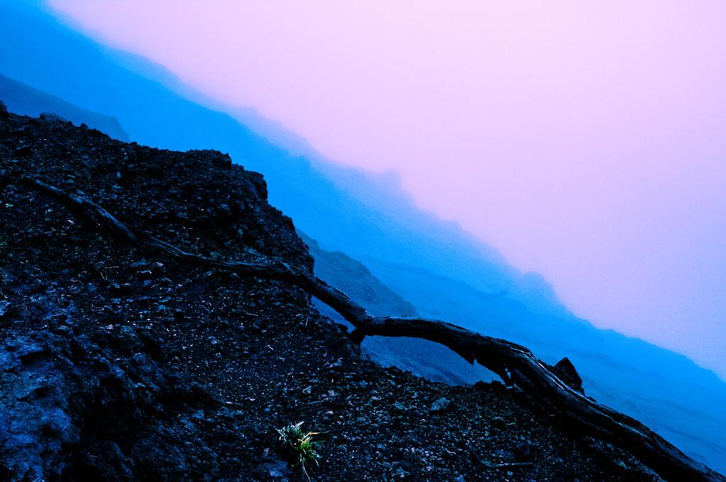 Cliff Edge in Fog #4