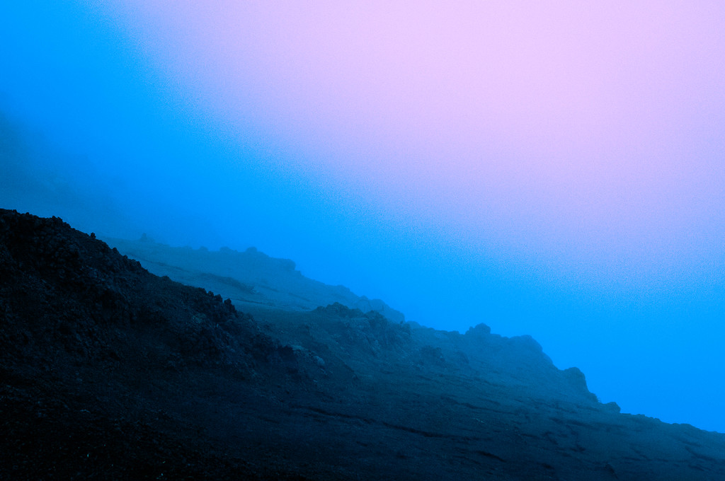 Cliff Edge in Fog #1