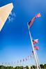 Flags Around Washington Monument