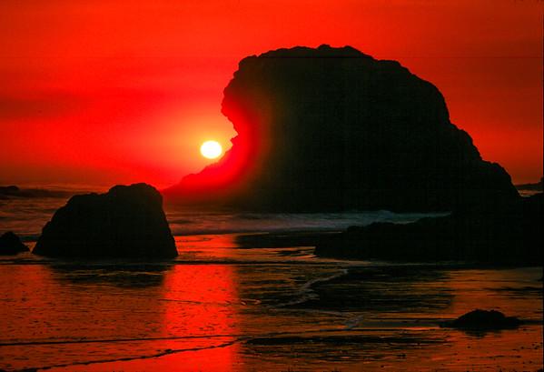 San Simeon Beach Sunset #2