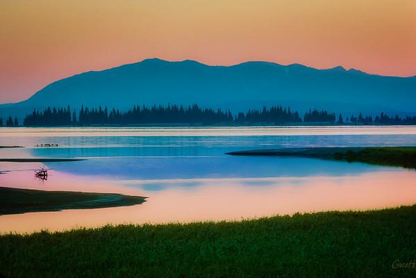 Yellowstone Lake #1