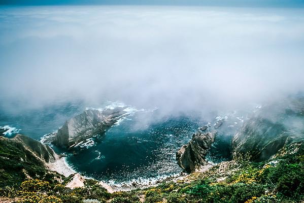 Fog Bank Off Big Sur
