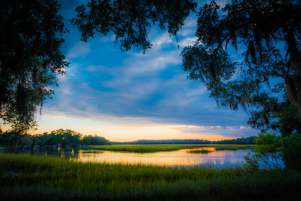 Leadenwah Creek at Sunset #1