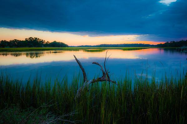 Leadenwah Creek at Sunset #4