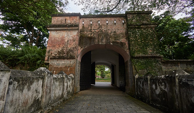 Gate of Fort Canning