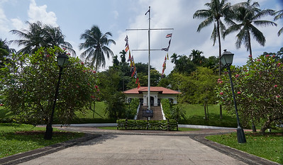 Raffles House at Fort Canning Park