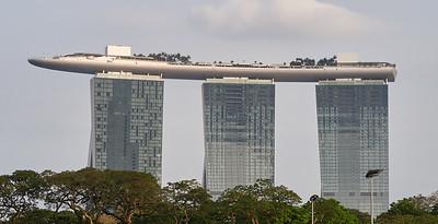 Marina Bay Hotel, seen from St. Andrews Road
