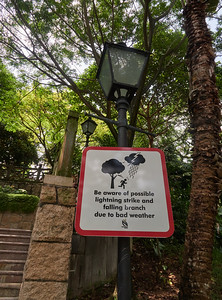 Fort Canning Park is a dangerous place, you have been warned