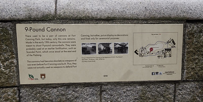 The manual for the 9 Pound Cannon at Fort Canning
