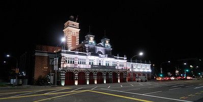 Central Fire Station on Hill Street, built in 1909 and still in service today