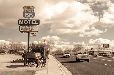 Motel on Historic Route 66