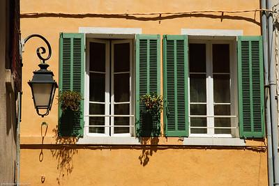 Façade provençale