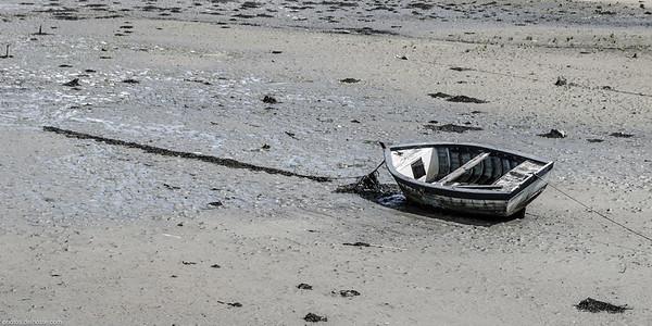 La barque à marée