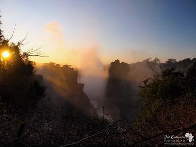 Sunrise over VF