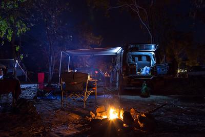 Jim Jim Falls Camp