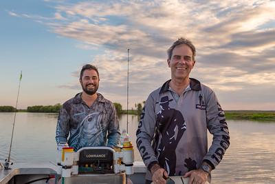 Fishing Corroboree Billabong with Dad