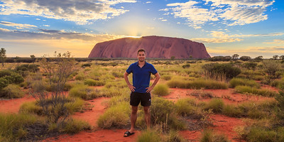 Highlight of the Last Year - Sunrise Over Uluru