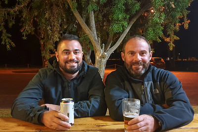 Couple drinks in Gilgandra