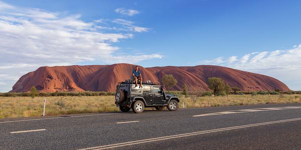 Morning Light on Uluru