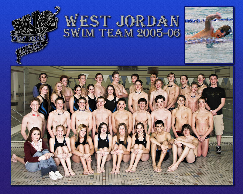 West Jordan Swim Team 2005-06 - Swimmer 1