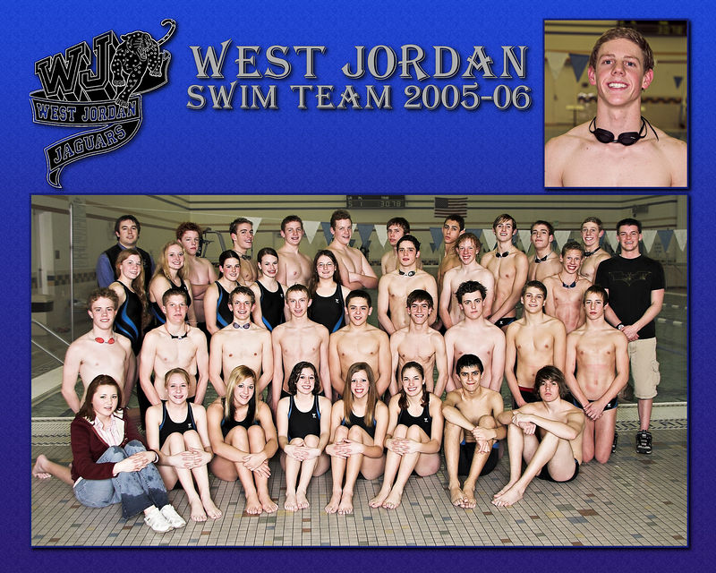 West Jordan Swim Team 2005-06 - Captains 3
