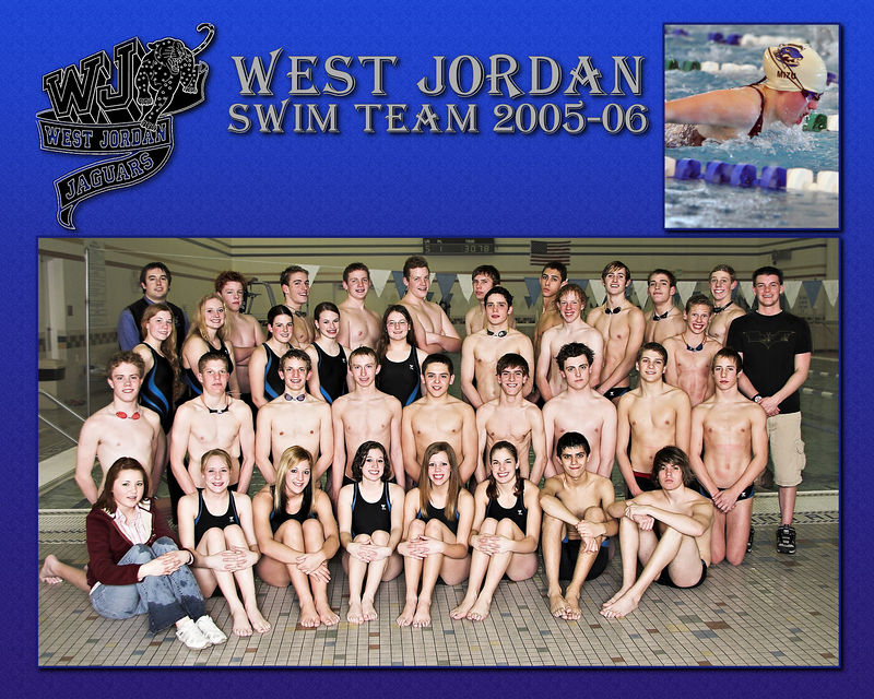 West Jordan Swim Team 2005-06 - Swimmer 4