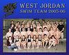 West Jordan Swim Team 2005-06 (8x10 or 16x20)