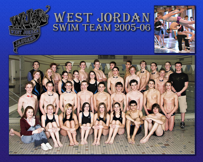 West Jordan Swim Team 2005-06 - Swimmer 3