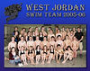 West Jordan Swim Team 2005-06