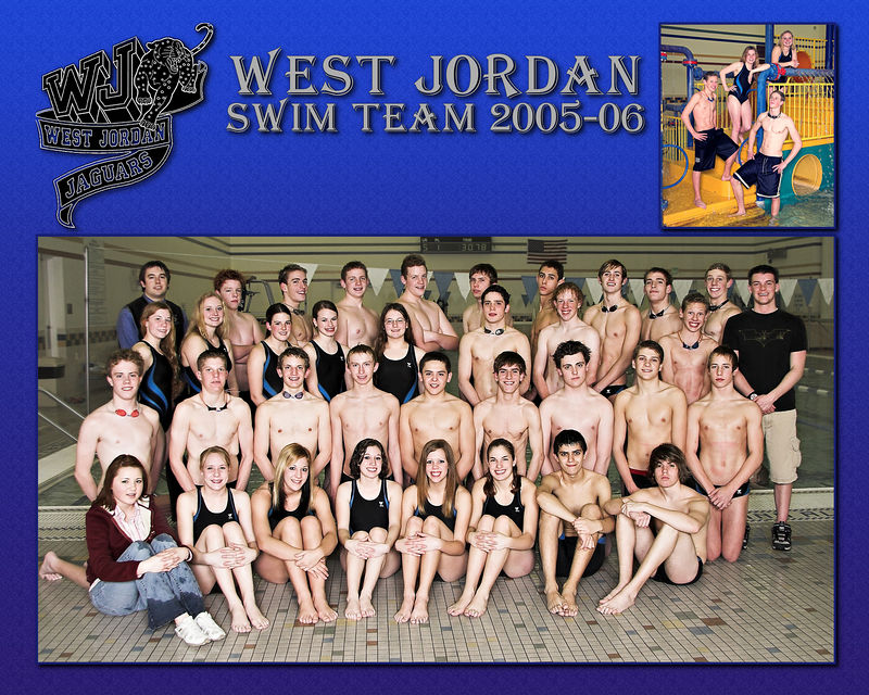 West Jordan Swim Team 2005-06 - Captains All