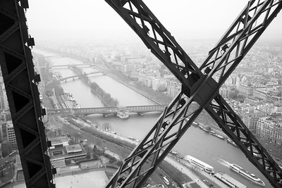West from the Eiffel Tower, France
