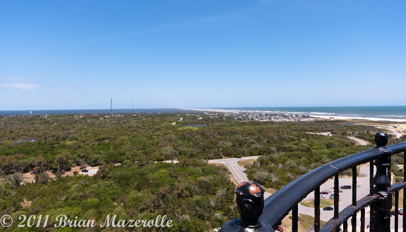 View from the top-Cape Hatteras Light