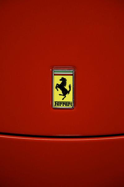 Ferrari logo,  Taken at Club Auto Sport in San Jose CA.