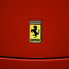 Ferrari logo,  Taken at Club Auto Sport in San Jose CA.