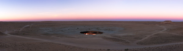 Darvaza gas crater (The Door to Hell), Turkmenistan