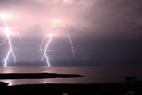 Lightning over Pamlico Sound