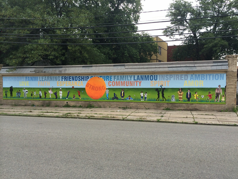 Oakwood Ave Mural.