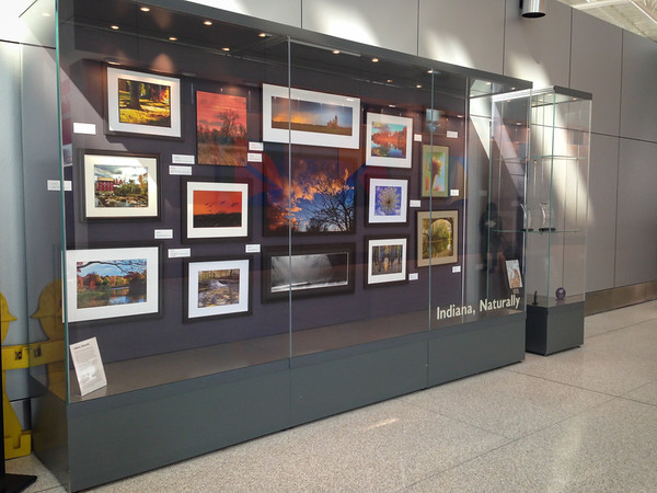 Indiana, Naturally Exhibit at the Indianapolis International Airport