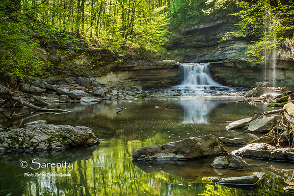 Falls of Spring, McCormick's Creek State Park, Spencer, IN, Owen County