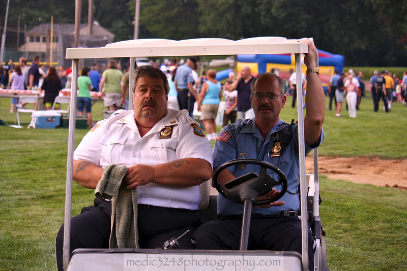Chief Andy Boele (left) and Lt. Larry Mintz (right) of the New Milford Police Auxiliary. Unfortunately Andy lost his battle with cancer in 2012. Andy also served many years with the New Milford Volunteer Ambulance Corps where I personally had the pleasure of working with him.