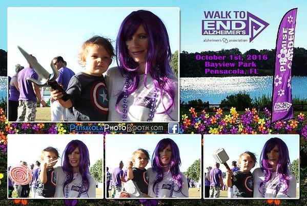 Pensacola Walk to End Alzheimer's 10-1-2016