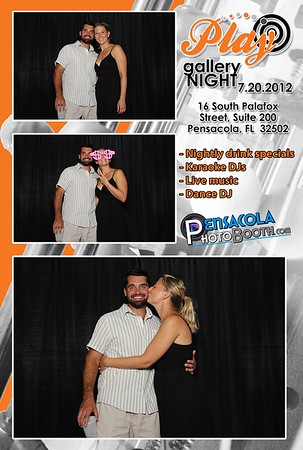 Play hosts Pensacola Photo Booth at Gallery Night 7-20-2012